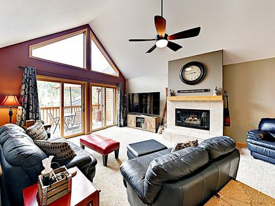 Photo for New Listing! Townhouse w/ Deck, Fireplace & Hot Tub Access - Walk to Lifts