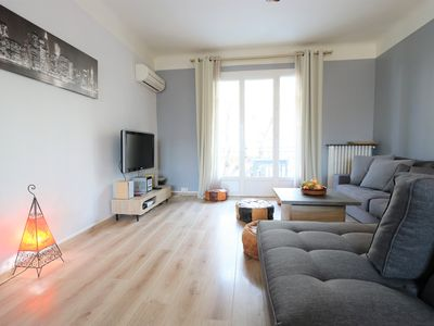 Photo for Le Blondel 2 Bedrooms Feng Shui Spirit Town Center long term welcome