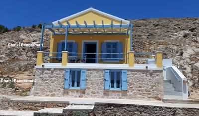 Photo for Chalki Panorama 2, a traditional island home with an amazing island's view!