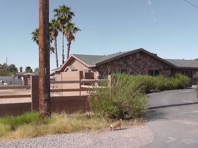 Photo for Ranch style home on 1 acre lot 1/2 mile from strip horse property