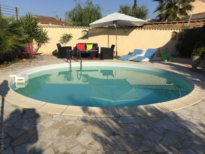 Photo for Lovely house with swimming pool near Avignon and golf