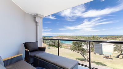 Photo for 5 The Outlook, 4 Ocean Parade - overlooking Boat Harbour beach and ducted air conditioning