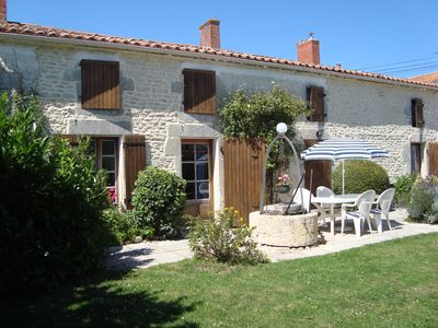 Photo for Beautifully Restored Farmhouse near La Rochelle.