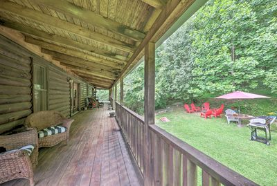Secluded in Nolensville, this cabin is an outdoorsy paradise!