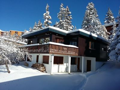 Photo for Chalet Chamrousse 1750 Roche Beranger, (Isere) independent, quiet, spacious.
