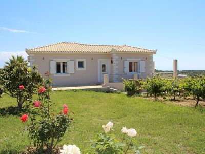 Photo for Beautiful rural located holiday house with dreamlike sea view | Messenia, Pelopo