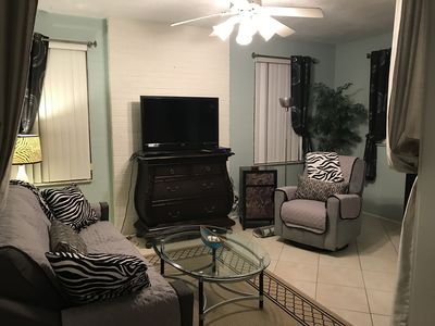 Photo for BEACH SIDE Walk2Beach Duplex:1BD/1BA/LR/Full Kit-Ea:WIFI/Cable-UNIT#2 QUOTED