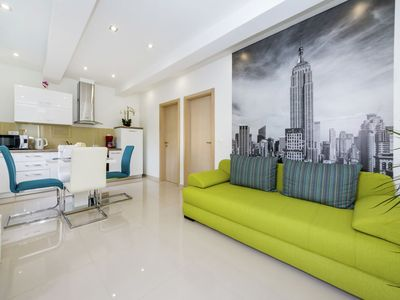 Photo for New Luxury Apartment  in a quiet area with private covered  terrace, BBQ