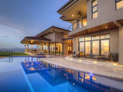 Photo for Magnificent New Luxury Home,180 degree Ocean & Beach View, Five Stars Only