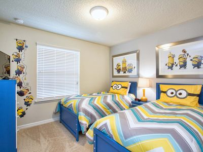 Photo for Minions Room/Private Pool/Free wifi/Great resort, communal pools, slides ,bar