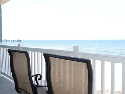 Photo for Pierview 107 - Great Views!! Updated 2 BR Oceanfront Condo