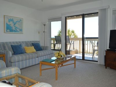 Photo for Gulf Front Condo! Easy Walk Out to the Beach!