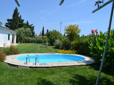 Photo for cottage with pool in the countryside a few steps from the sea
