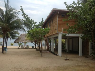 Photo for BelizeOnTheBeach.com Caribbean Delite Toucan Beach House. Ask about discounts