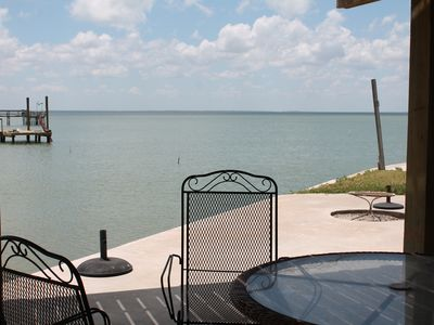Photo for Voss Point - Beautiful property on a point that overlooks Copano Bay