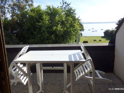 Photo for Apartment in small residence with beautiful sea view on the Bay of Concarneau