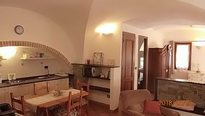 Photo for large studio apartment typical of the Ligurian village of Artallo / Imperia