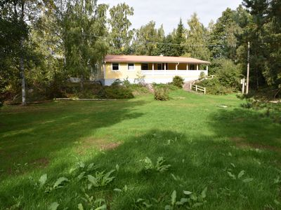 Photo for Sjöklippan am Långensee - Comfortable lake house for anglers, canoeists, hikers