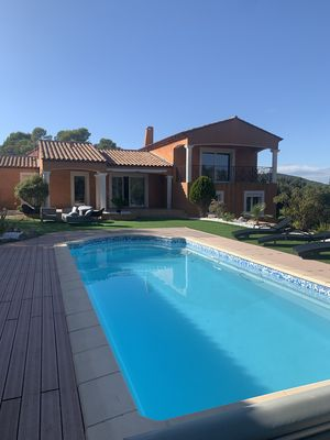 Photo for Contemporary Provencal Villa 200 m2 with private pool, 7 bedrooms, 3 bathrooms