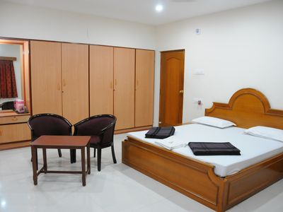 Photo for Comfortable stay at the heart of Chennai's shopping district, at T. Nagar.