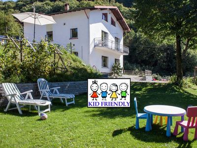 Photo for Kids & Bike Friendly HOUSE with GARDEN close to BELLAGIO