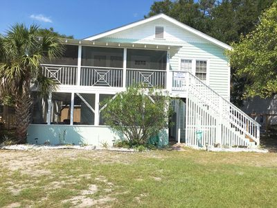 Photo for Family Favorite, walking distance to beach, mid Island location June $250ng
