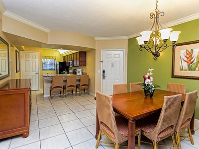 Photo for Family-Family Condo w/ WiFi, Free Shuttle to Theme Parks, Resort Dining & Pool