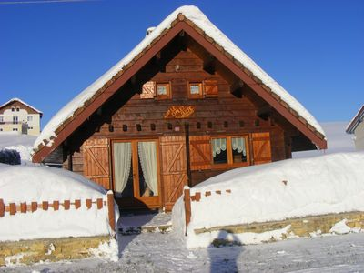Photo for charming little chalet 2 * with internet access