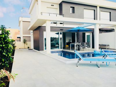 Photo for Smart, newly constructed, contemporary Villa with private pool.