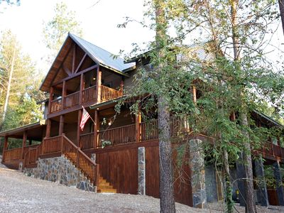 Photo for New! 5 Bedroom 3.5 Bath-Hot tub, playground, close to Broken Bow Lake