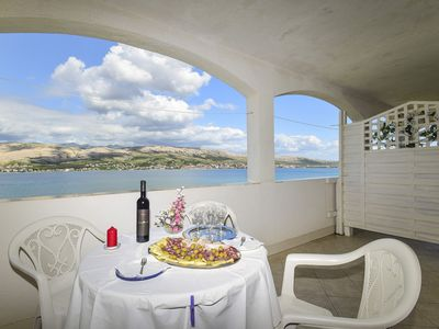 Photo for Apartments Smail (25291-A4) - Pag - island Pag