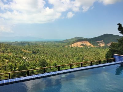 Photo for Villa on the hills of Maenam
