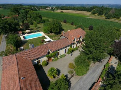 Photo for Saint Mont, Gem of a Cottage  - Sleeps 4 - Heated Salt Water Swimming Pool