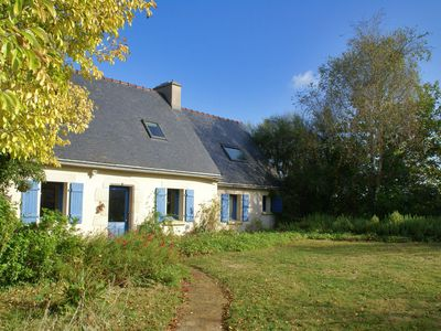 Photo for Modern holiday home on a peninsula, with large garden in magnificent Brittany