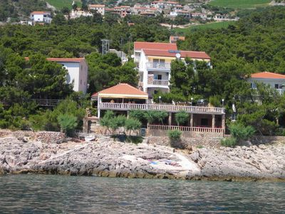 Photo for Apartment in Sveta Nedilja (Hvar), capacity 4+2