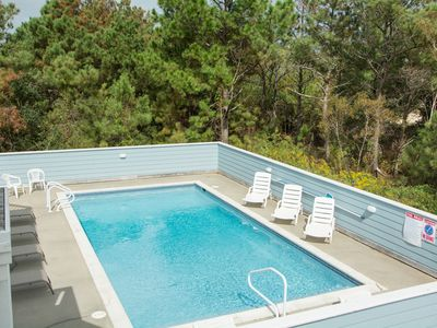 Photo for Aye Corolla: Oceanside, 6 bedrooms, private pool and hot tub, close to the beach.