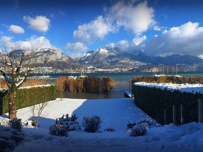 Photo for 5 star lakeside home near Annecy with waterfront garden - OVO Network