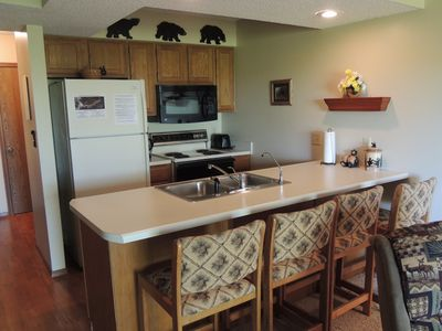 Photo for Woodsy Bear Theme condo NO STEPS close to SDC LOW SEASONAL RATES NOW