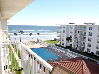 Photo for Gorgeous condo! Watch the sunrise over the No Drive Beach in NSB!
