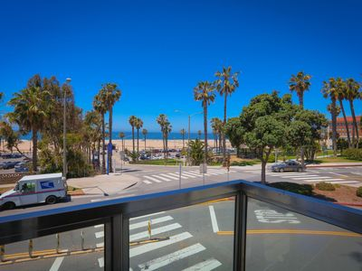 Photo for Ocean  View with Beautiful Sunsets,  Steps to Santa Monica Beach & Pier