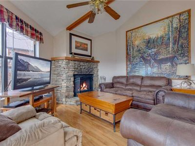 Photo for Right at Home, 2 Bedrooms, Hot Tub, Pet Friendly, Fireplace, Grill, Sleeps 6