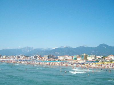 Photo for Beautiful apartment for 4 people with A/C and TV, close to Viareggio