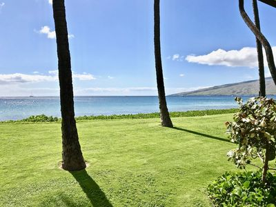 Photo for Ma'alaea Surf, Unit A3 - Lovely Beachfront Condo, 1BR Ground Floor