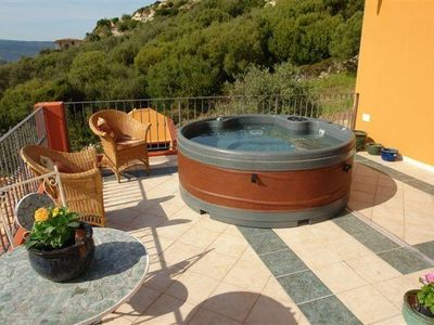 Photo for Luxury Family Villa with Two Spa Pools in  4 acreas of Olive Grove