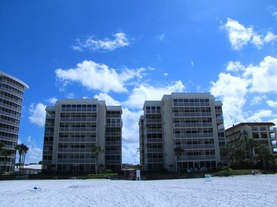 Crescent Arms Condo on Siesta Key's world famous powder white sand beach
