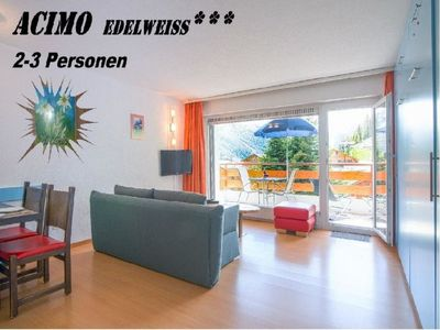 Photo for Apartment Acimo in Saas-Fee - 3 persons, 1 bedrooms