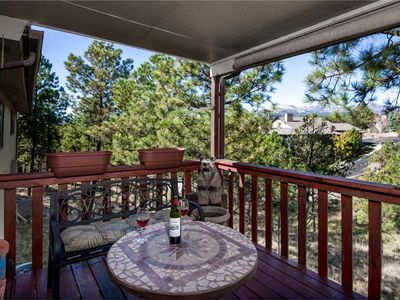 Photo for Nature's Outlook, 3 Bedrooms, Mountain View, Single Level, AC, WiFi, Grill