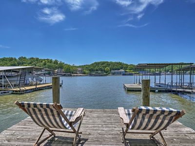 Photo for NEW-Home w/ Game Room & Dock on Lake of the Ozarks