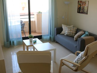 Photo for Modern apartment - Wifi - pool - parking - center - beach at 250 m