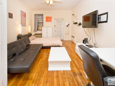 Photo for Charming Upper East Side Studio w/ Private Garden (min. 30 days)
